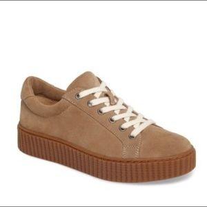 Splendid Platform Suede Sneakers